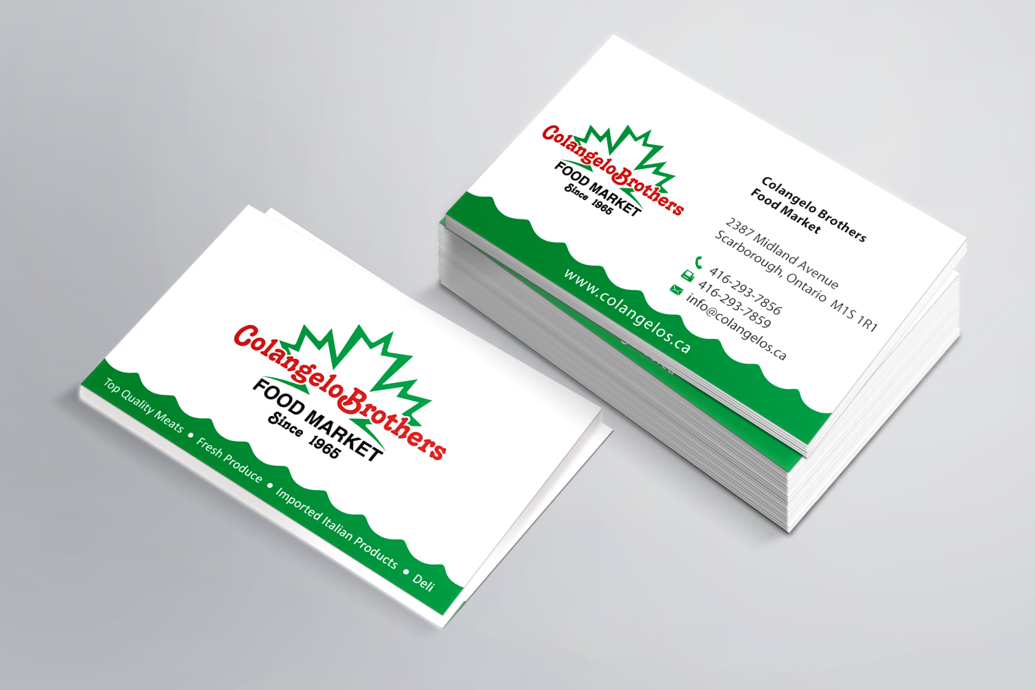 Business cards archives page 2 of 3 go online marketing colangelos cards reheart Images