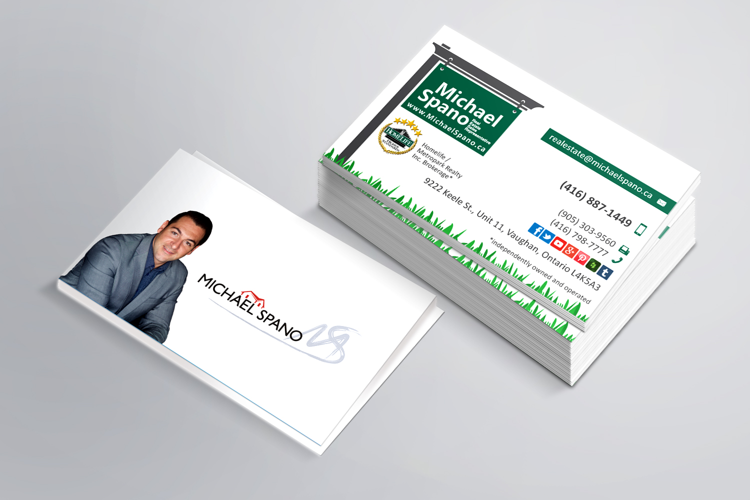 Michael spano cards go online marketing reheart Images